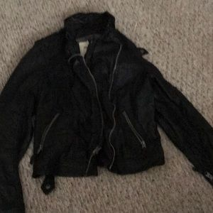 abercrombie fitch soft leather jkt